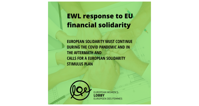 Call for a European Solidarity Stimulus Plan: European solidarity must continue during the COVID-19 pandemic and in the aftermath