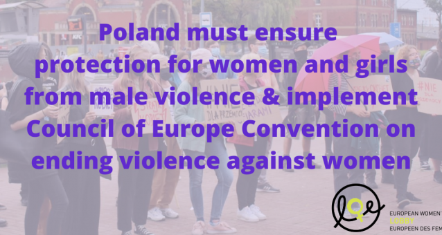 European Women's Lobby rejects any attempt to backtrack on women's and girls safety in Poland