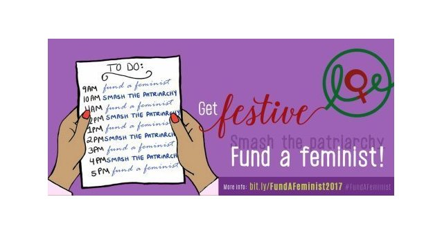 Get Festive! Smash the patriarchy! #FundaFeminist!