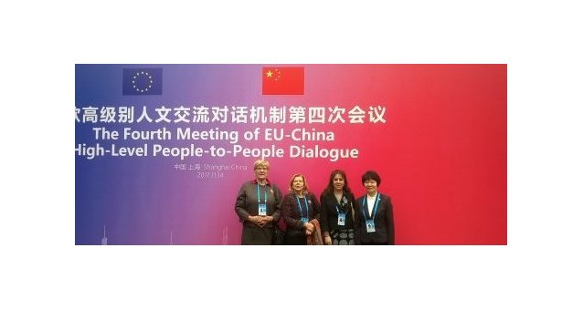 EWL participates at Women's Symposium as part of the High Level People to People Dialogue (HPPD) in Shanghai, China