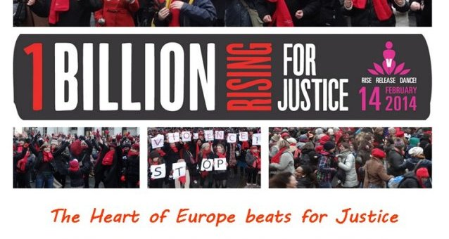 Save the date! ONE BILLION RISING in Brussels: Rising for Justice! 14.02.2014