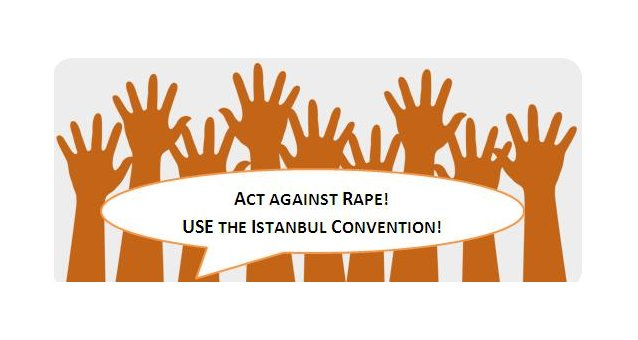 One month to go: Act against rape! Use the Istanbul Convention! Joint action of the Council of Europe and the European Women's Lobby
