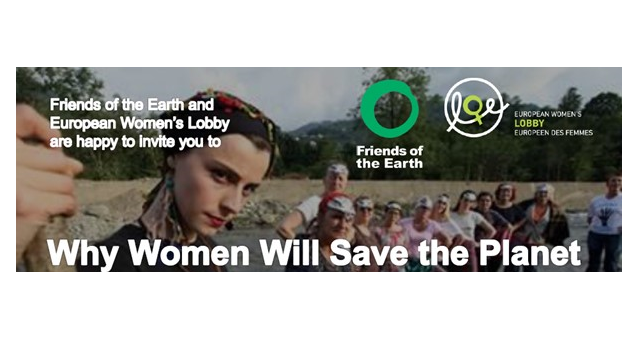 "Join the event ""Why women will save the planet"", Brussels, 23 May"
