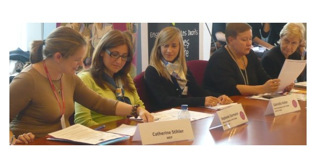 EWL event in EP draws strong commitments from policy-makers for effective action to end violence against women and girls in internal and external policies