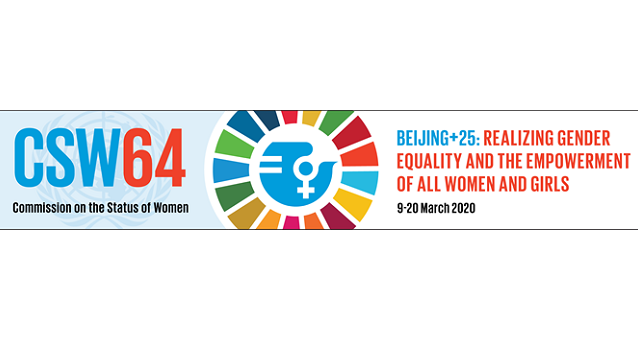 """Our future - the time to deliver is now!"" The EWL's statement ahead of CSW64"