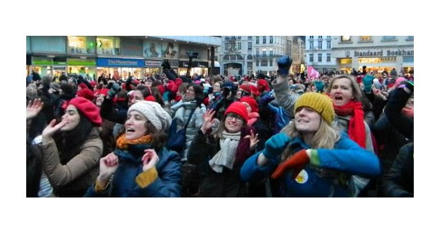 One Billion Rising: huge mobilisation in Brussels!