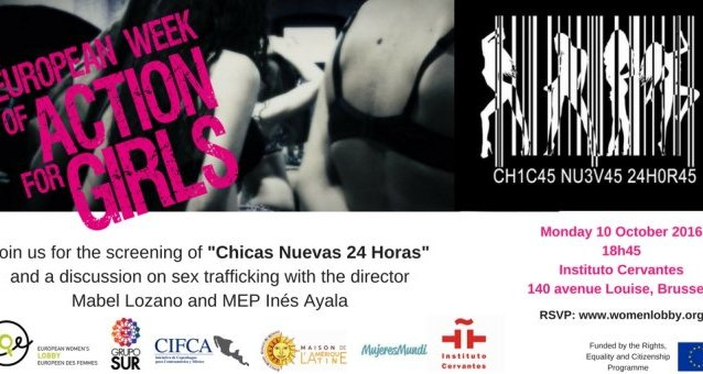 "Join us for the screening of ""24 Horas Chicas Nuevas"""