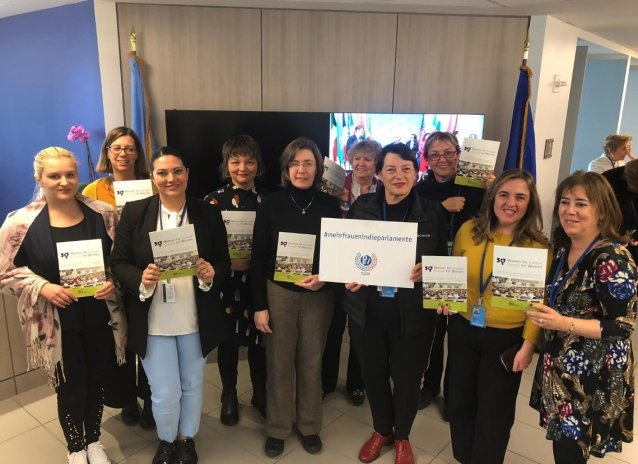 EWL members at the EU Mission in New York