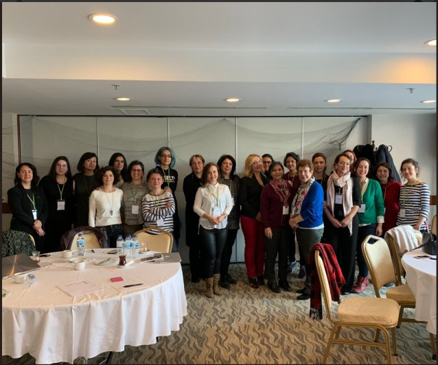 EWL Turkish Coordination HerNetHerRights Training March 2019 2